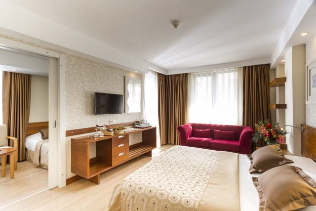 SİDE STAR BEACH HOTEL FAMILY ROOM LAND VIEW